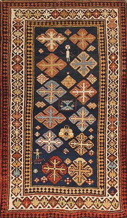 Antique Kazak – 37210