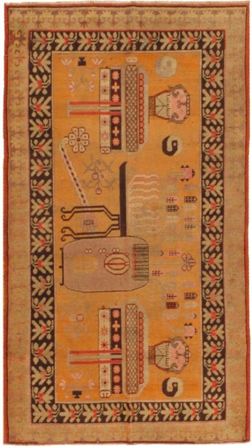Antique Khotan-23045 - Glen Cove Rug