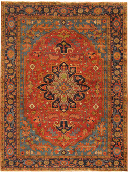 Serapi Types Glen Cove Rug